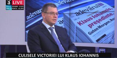 Mihai Razvan Ungureanu a fost numit consilier personal al presedintelui Klaus Iohannis