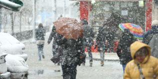 Informare de vreme rea: se intorc ninsorile