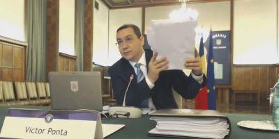 Premierul Victor Ponta preia interimatul la Finante. Sapte interimate intr-un mandat