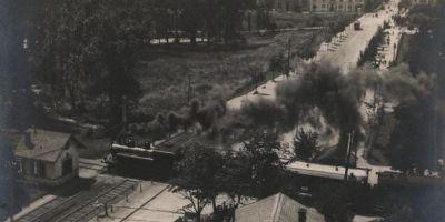Povestea caii ferate care leaga Timisoara de Szeged. Primele locomotive au fost aduse cu ambarcatiuni pe Bega