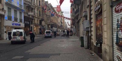 VIDEO Explozie la Istanbul, soldata cu cel putin patru morti si 20 raniti