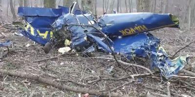 VIDEO Un pilot roman a murit dupa ce avionul cu care efectua un zbor de antrenament s-a prabusit in Ungaria