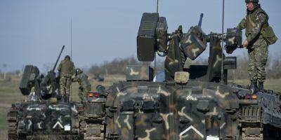Incep manevre militare NATO in Poligonul Smardan. La exercitiul multilateral vor participa militari romani si americani