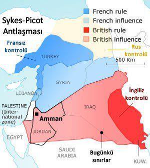 Se implinesc 100 de ani de la Acordul Sykes-Picot. Consecintele le tragem si azi