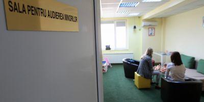 Prima sala pentru audierea copiilor din Bucuresti: