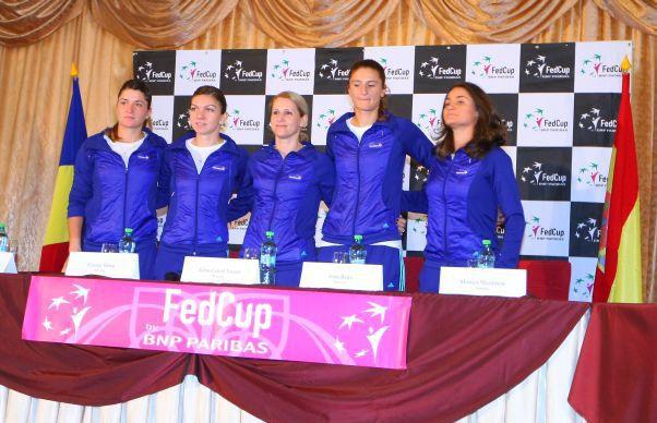Nationala de Fed Cup a Romaniei si aflat ADVERSARA din primul tur