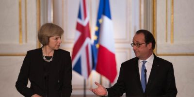Brexit. Hollande reduce tonul dupa intrevederea cu May. Franta ii acorda timp Marii Britanii sa-si pregateasca iesirea din UE