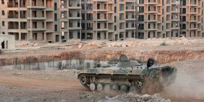 Asediul Alep: Rebelii din Siria au pierdut jumatate din teritoriu
