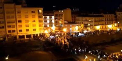 VIDEO Busculada in sudul Spaniei, dupa ce mii de oameni care luau parte la un festival au crezut ca a avut loc un atentat