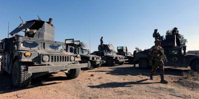 Fortele irakiene castiga teren la Mosul