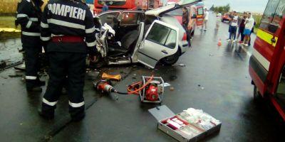 Trei persoane au murit pe loc, intr-un accident petrecut pe o sosea din Ialomita