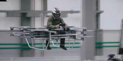 VIDEO Kalasnikov isi prezinta vehiculul zburator