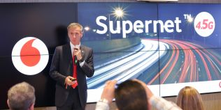 Supernet 4.5G de la Vodafone