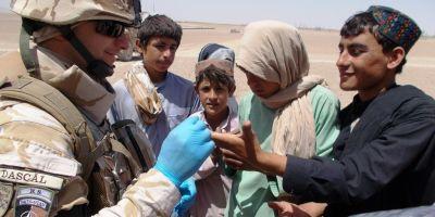 FOTO Impresii din teatrul de razboi din Afganistan.