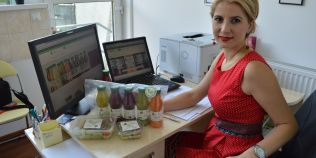 Afacerea inspirata de o grava problema de sanatate: femeia care livreaza in toata Romania diete de slabit si detoxifiere