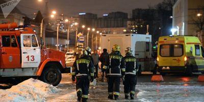 VIDEO Primele imagini cu presupusul autor al atacului din supermarketul din Sankt-Petersburg. Putin spune ca este vorba de un act terorist