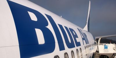 Blue Air se retrage de pe un mare aeroport din Romania: