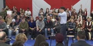 VIDEO Premierul Canadei a cerut ca mai multe persoane care il deranjau in timpul unui eveniment sa fie evacuate