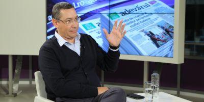 Ponta: Nu am avut nicio problema cu SPP. Nu-mi comunica pe unde s-a dus vreun ministru. Comisia de ancheta a una din pacaleli