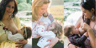 FOTO Calendarul mamelor care alapteaza in public. Cele 11 romance care au avut curajul sa pozeze hranind copilul la san