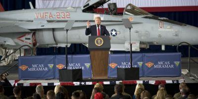 Trump vrea o armata spatiala