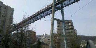 Cum va fi transformat funicularul pentru transportat carbuni care traversa orasul Resita in comunism